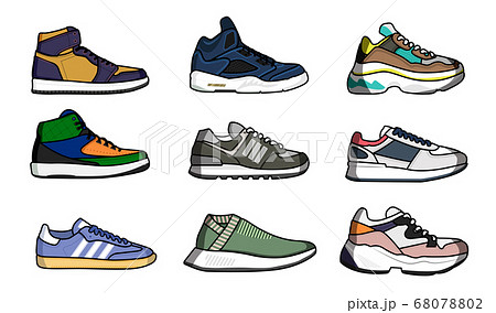 Sneakers shoes set 68078802