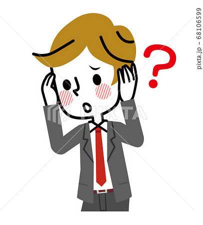難聴 物忘れ ビジネスマン 68106599