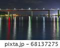 城ヶ島大橋【神奈川県三浦市】夏の夜【中央付近】 68137275
