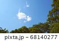 樹木と青空 と雲 68140277