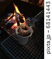 バーベキューの夜はドリップコーヒー 68141443