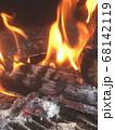 炭が燃えるシーンは癒しの時間 68142119