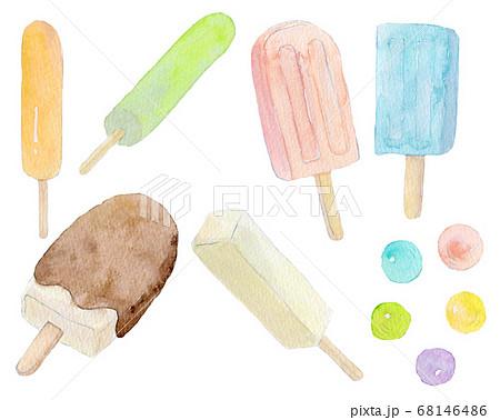 アイス セット 68146486