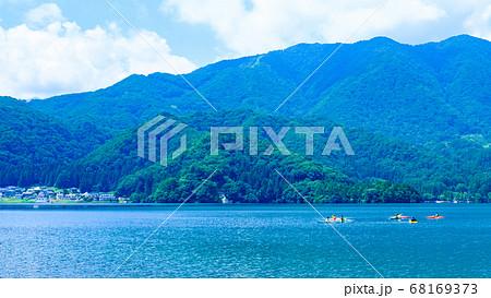 信州:夏の青木湖 68169373