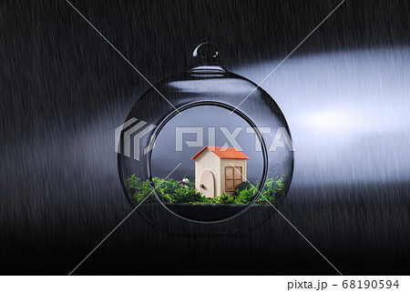 災害に強そうな可愛らしい家(不動産) 68190594
