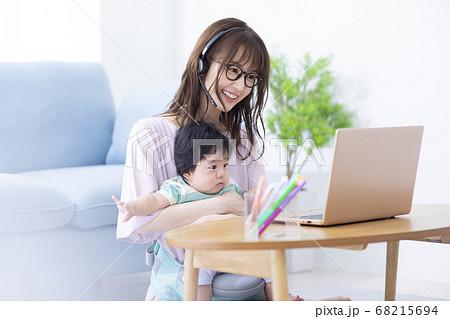 レテワーク ママと赤ちゃん  68215694