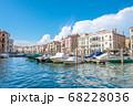 イタリア・水の都ヴェネツィアと入道雲 68228036