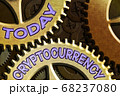 Conceptual hand writing showing Cryptocurrency 68237080
