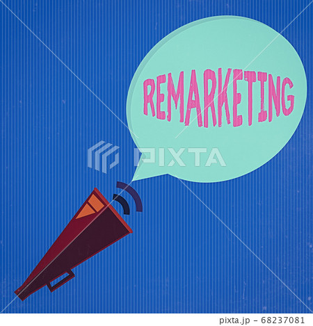 Word writing text Remarketing. Business concept 68237081