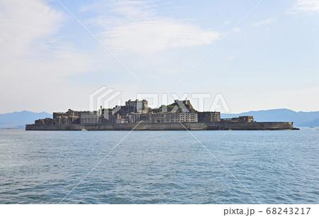 長崎県にある世界文化遺産、軍艦島(端島) 68243217