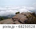 ロマンチック茨城(めったに出会えない筑波山・山頂からの雲海。今日は幸運にめぐり合った。)筑波山・山頂 68250528