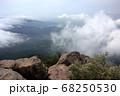 ロマンチック茨城(日本百名山の一つ筑波山、男体山・女体山の二つの山頂からなる。女体山から見下ろす。) 68250530