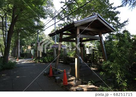 埼玉県入間郡三芳町三富の旧島田家住宅と井戸 68251715