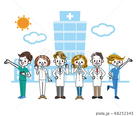医療従業者 グループ 68252345