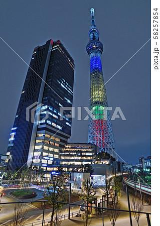 イーストタワーと東京スカイツリー 68257854