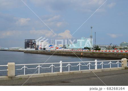 横浜、カジノ建設予定地の山下埠頭 68268164