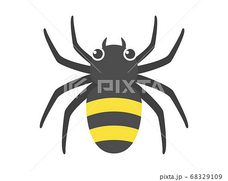 蜘蛛のイラスト 68329109