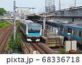 京浜東北線と王子駅ホーム 68336718
