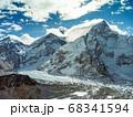 Himalaya mountains landscape 68341594
