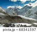Himalaya mountains landscape 68341597