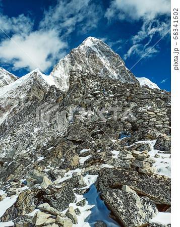 Himalaya mountains landscape 68341602