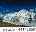 Himalaya mountain Everest landscape 68341605