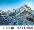 Himalaya mountain Everest landscape 68341606