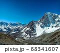 Himalaya mountains landscape 68341607
