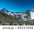 Himalaya mountains landscape 68341608