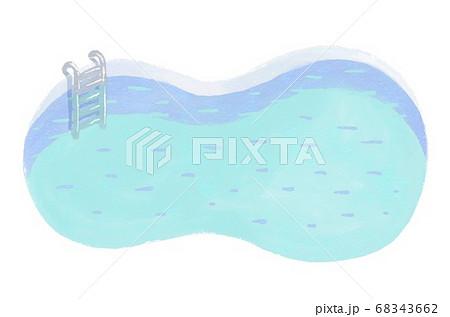 北極・南極のプールのクリップアート 68343662