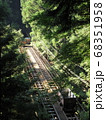奥多摩工業曳鉄線の無人ケーブルトロッコ 68351958