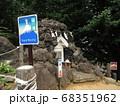 鳩森八幡神社の富士塚 68351962