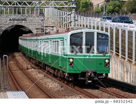 神戸地下鉄 伊川谷駅の1000系電車 68352342