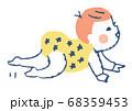 ハイハイする赤ちゃん 68359453
