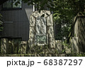 京都、高瀬川沿いにある大村益次郎遭難の碑 68387297