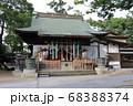 松戸神社 おみくじ 手水舎 68388374