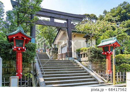 【神奈川県】江島神社 辺津宮の鳥居 68417562