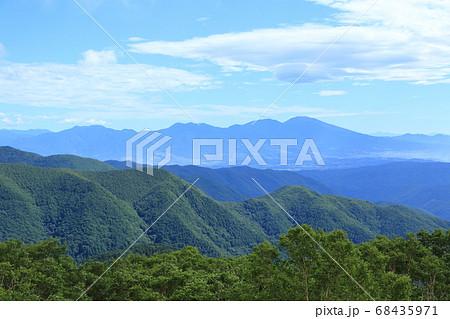 ビーナスラインから浅間山方面の展望 68435971