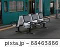 駅のベンチ 68463866