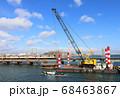 なんば線 淀川の橋梁架け替え工事 68463867