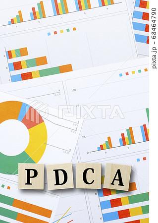 PDCAとグラフ 68464790