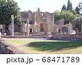 世界遺産の街並み・イタリア・チボリ・びっらアドリアー 68471789