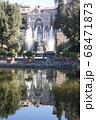 世界遺産の街並み・イタリア・チボリ・ビラエステ 68471873