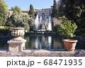 世界遺産の街並み・イタリア・チボリ・ビラエステ 68471935