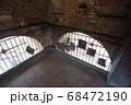 世界遺産の街並み・イタリア・シエナのマンギアの塔の階段室 68472190