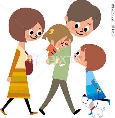家族の散歩 68479488