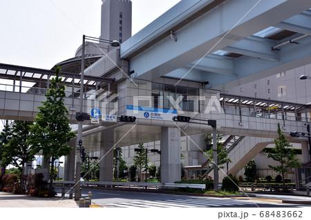 ゆりかもめ東京臨海新交通臨海線の台場駅 68483662
