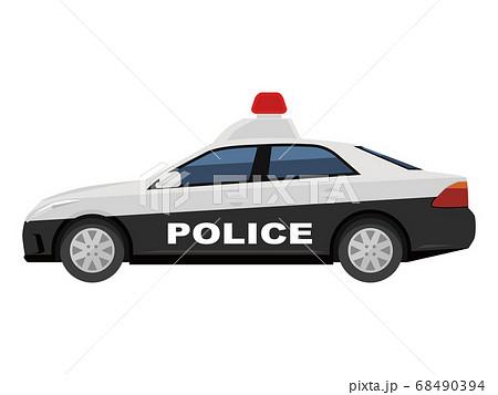 パトカー 68490394
