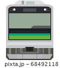 ドット絵風の205系(仙石線) 68492118