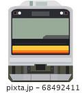 ドット絵風の205系(南武線) 68492411